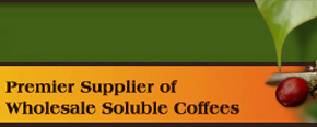 Incasa Coffee Supplier of Wholesale Soluble Coffees for flavoring